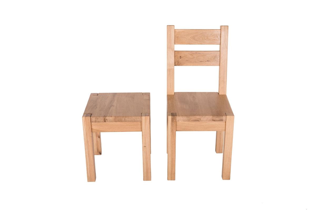 Krzesło i taboret